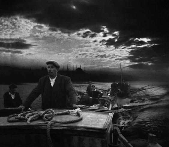 Ara Güler's boatman