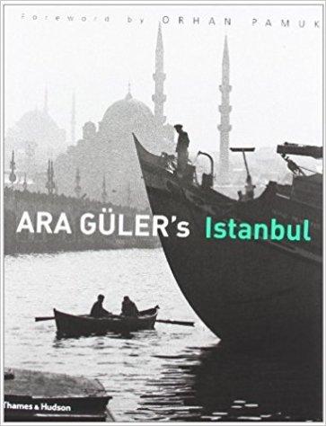 Ara Güler's Istanbul book cover