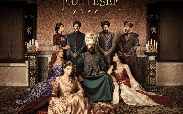 The Cast of the Ottoman Era drama 'Muhteşem Yüzyil'