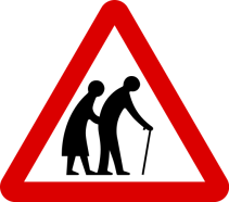 7 road sign