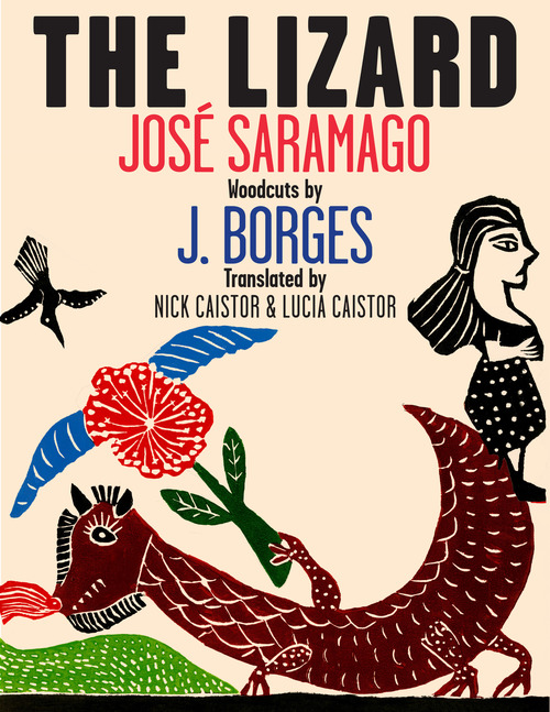 Book Cover The Lizard by José Saramago
